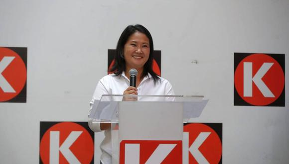 Keiko Fujimori se pronuncia tras pasar a la segunda vuelta de las Elecciones Generales Perú 2021. (Foto: GEC)