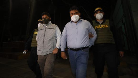 Personal de la Comisaría de Zapallal desarticuló banda que usurpaba terrenos (Fotos: César Bueno/@photo.gec)