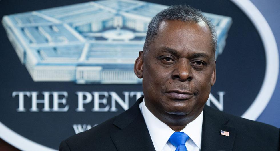 Imagen del jefe del Pentágono, Lloyd Austin. (Foto: SAUL LOEB / AFP).