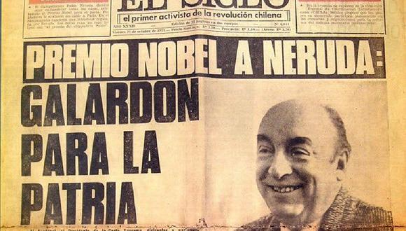 Pablo Neruda: 43º aniversario de su muerte