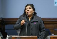 """Betssy Chávez sobre críticas a Barranzuela: """"Hay que reducir el ruido político, dejemos trabajar a ministros"""""""
