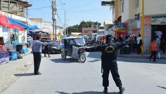 Piura: Cierra avenidas por celebraciones de Virgen de las Mercedes