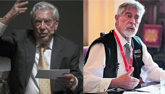 Mario Vargas Llosa reveló lo que conversó con Francisco Sagasti. | Foto: Composición.
