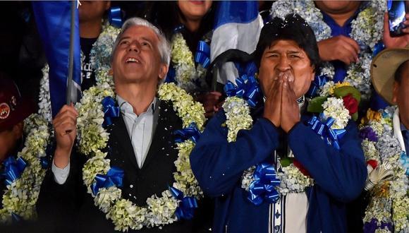 """""""Le seré siempre leal, estaré siempre a su lado"""": García Linera tras renuncia de Evo Morales"""