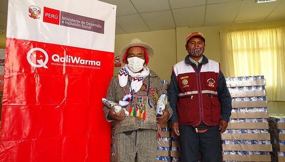 Entregan alimentos a 342 comunidades campesinas de Arequipa