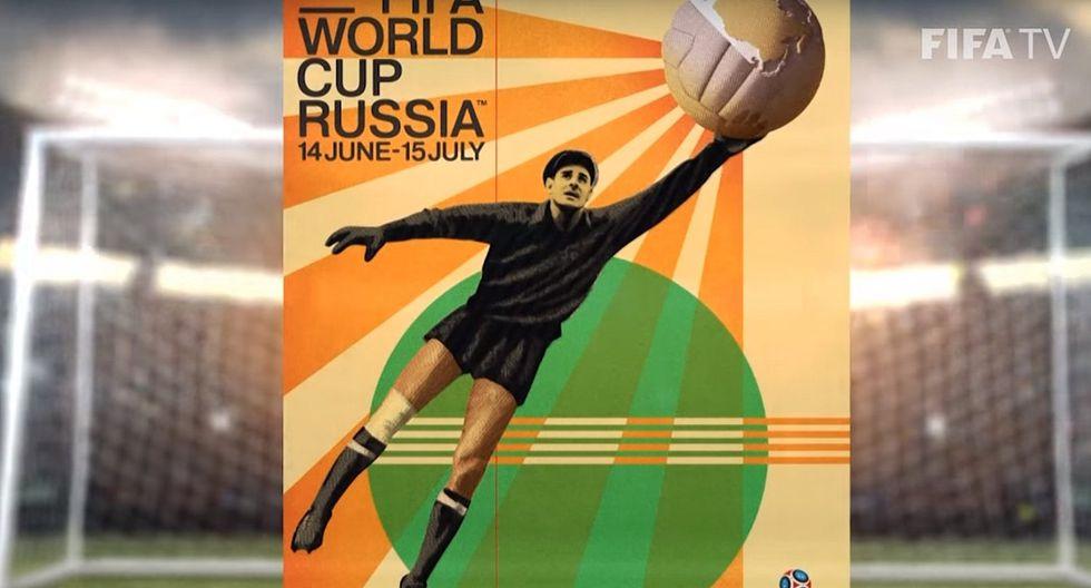 FIFA presenta el póster oficial del Mundial de Rusia 2018 (FOTOS)