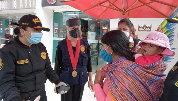 Autoridades en plena operación. (Foto: Ministerio Público)