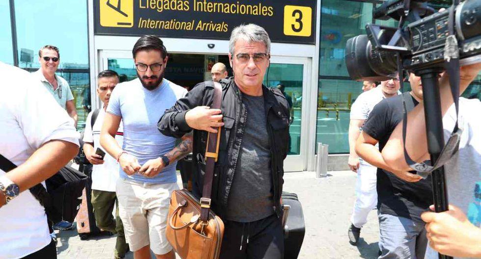 Pablo Bengoechea llegó a Lima para iniciar los trabajos con Alianza. (Foto: GEC)