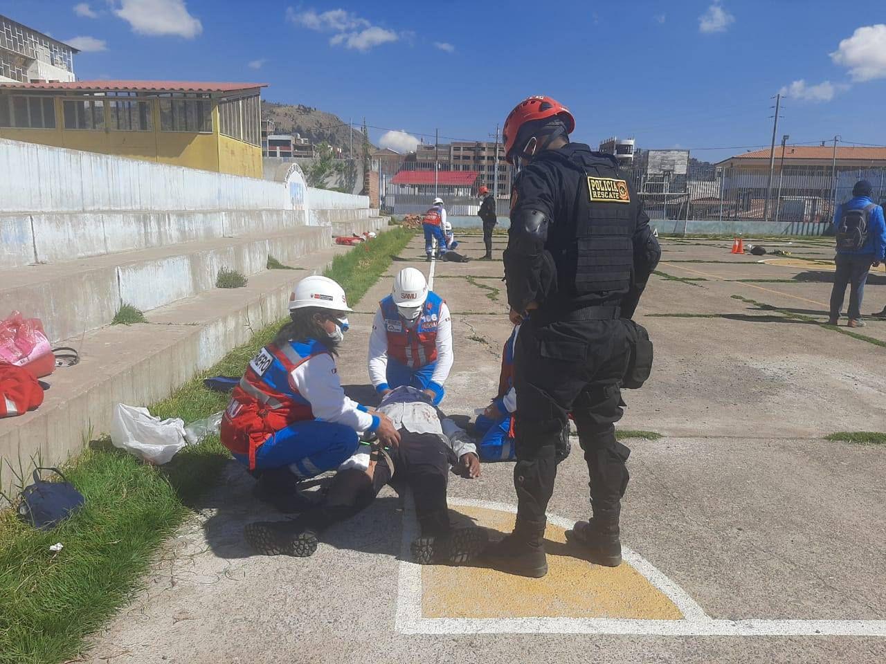 Recibieron la capacitación de personal del SAMU de la Diresa Puno.