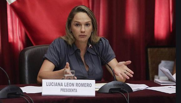 Luciana León (Foto: Archivo Correo)
