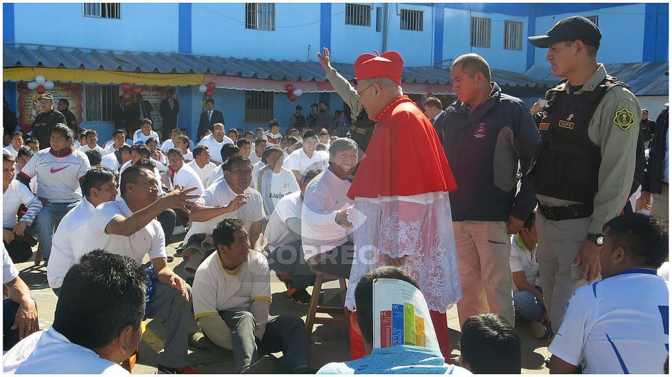 """CardenalPedro Barreto: """"Los pecadores pueden cambiar, los corruptos no"""""""