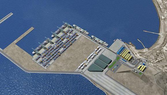 Piden modificar el estudio de impacto ambiental del Puerto Multipropósito de Chancay. (Foto:Difusión)