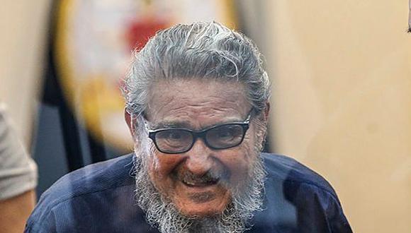 Abimael Guzmán Reinoso, cumple sentencia de cadena perpetua por el delito de terrorismo en agravio del Estado.