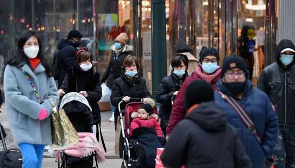 Alcalde de Nueva York pide a empresas exigir a sus empleados que se vacunen contra la COVID-19. (Foto: Angela Weiss / AFP)