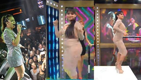 Daniela Darcourt se refiere a Yahaira Plasencia y se anima a bailar 'Mueve el Totó' (VIDEO)