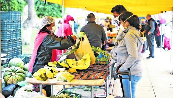 Productores locales expenderán desde mayo a diciembre en espacios al aire libre. (Foto: Correo)