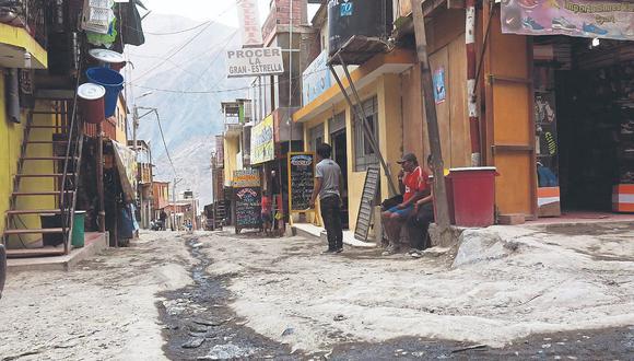 Población de Secocha afectada con mercurio