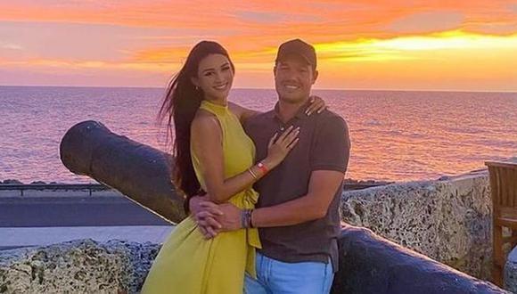 El programa de Magaly Medina dio a conocer que la pareja de George Forsyth se llama Sonia La Torre y es una joven cajamarquina de 28 años