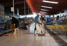 Mercado El Palomar Pesquero cierra 4 días por desinfección