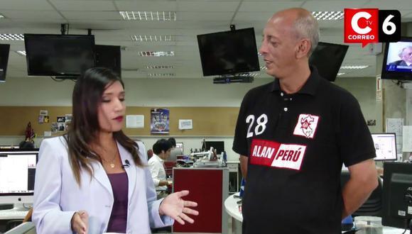 """Javier Morán: """"El APRA existe sin Alan García"""" (Video)"""