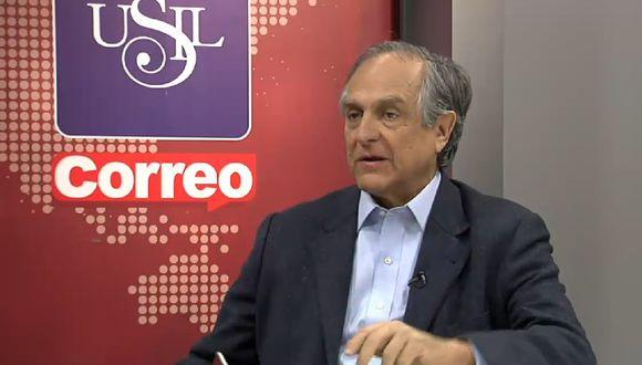 No hay partidos políticos para enfrentar la ideología en la protesta antiminera, según Diez Canseco