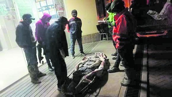 Trabajadores perecieron dentro de un socavón situado en el distrito de Quiruvilca, en la provincia de Santiago de Chuco.