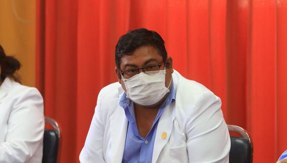 El gerente de Salud Christian Nova, aclara sobre la variante India en Arequipa