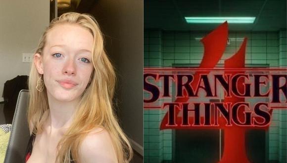 "Amybeth McNulty, protagonista de ""Anne With an E"", se suma al reparto de ""Stranger Things"". (Foto: @amybethmcNulty/Netflix)"