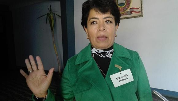 Luz Franco indica que sanciones en su contra fueron archivadas