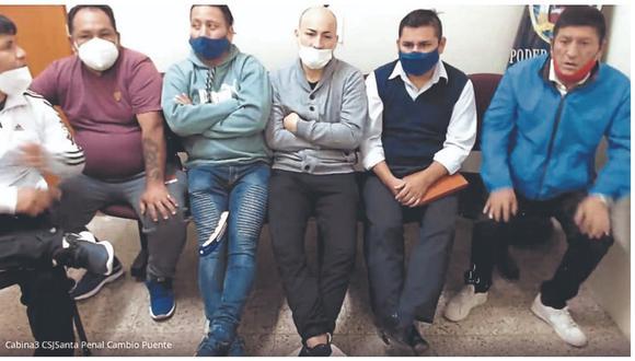 Ministerio Público solicitó que seis de los investigados sigan en la cárcel mientras concluyen las pesquisas contra la organización criminal.