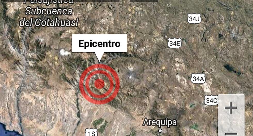 Sismo de 4.1 grados remece el valle del Colca