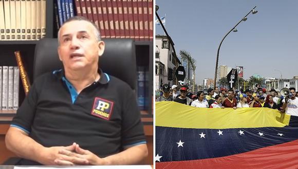 Daniel Urresti propone enviar a los venezolanos a los lugares más alejados del Perú (VIDEO)