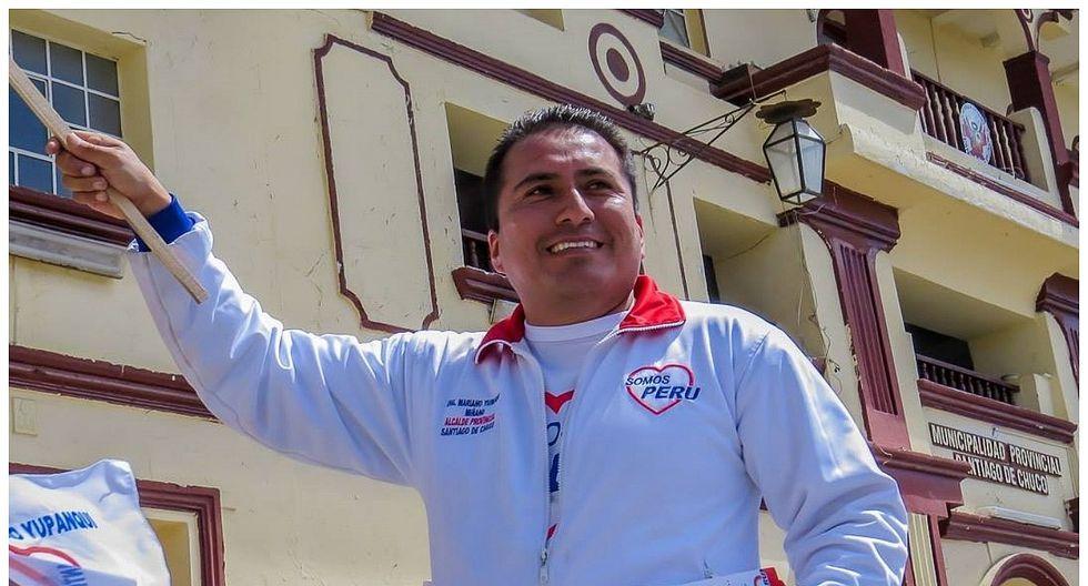Mariano Yupanqui pide sus votos