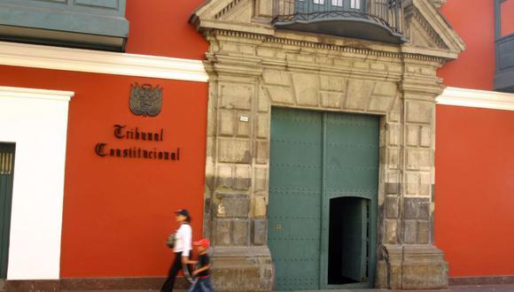 El TC está por compuesto por siete miembros y entre ellos, en votación secreta, se elige a su presidente. (Foto: Andina)