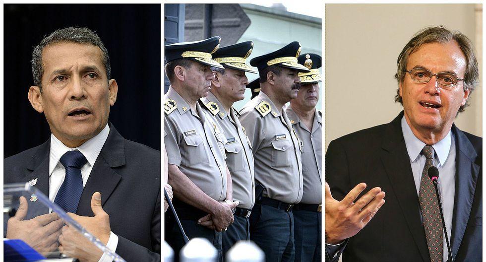 Ministro Carlos Basombrío responsabiliza a Ollanta Humala por pase a retiro de 39 generales PNP (VIDEO)