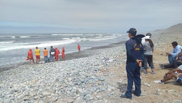 Un pescador muere y otros dos desaparecen tras naufragio en Huarmey. (Foto referencial)