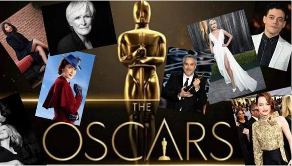 Oscar 2019: lista completa de todos los nominados a los premios