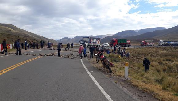 Los manifestantes permanecieron en dichos lugares hasta las 4 de la tarde de este martes. (Foto: Difusión)