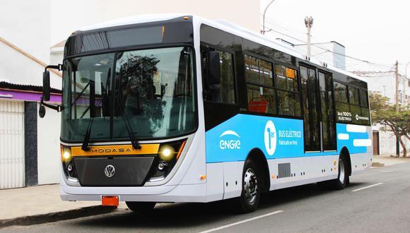 La Asociación Automotriz del Perú indica que es necesario los buses eléctricos para reducir la contaminación. (FOTO: Engie)