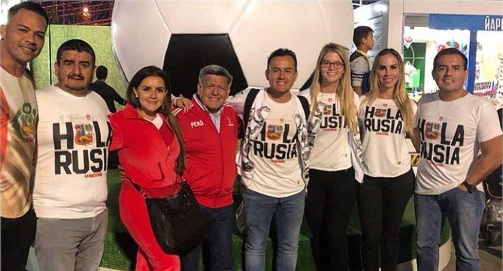 César Acuña y su familia también llegan a Rusia