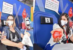 """Marisol Aguirre y Kukuli Morante donan sangre para niños con cáncer: """"Podemos salvar muchas vidas"""" (VIDEO)"""