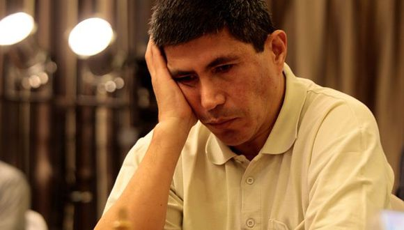 Julio Granda quedó segundo en el open de ajedrez de Aragón