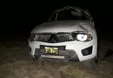 Huancavelica: Accidente deja a tres personas heridas