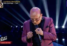 """""""La Voz Senior"""": Participante emocionó a todos con show dedicado a su hijo en el cielo"""