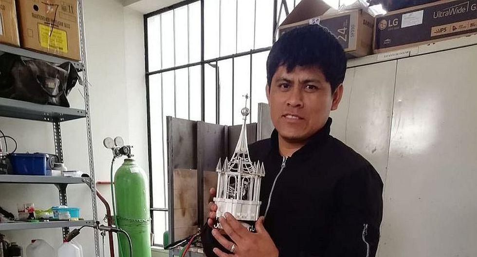 La Basílica Catedral de las manos de un artesano ganador