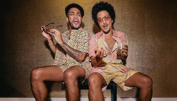 Bruno Mars lanza el primer tema de su disco con Anderson Paak. (Foto: @brunomars/@anderson._paak)