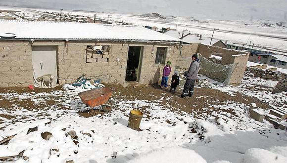 Las heladas meteorológicas se presentan al finalizar la temporada de lluvias. (Foto: Difusión)
