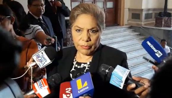 Luz Salgado (Foto: Captura video Correo)