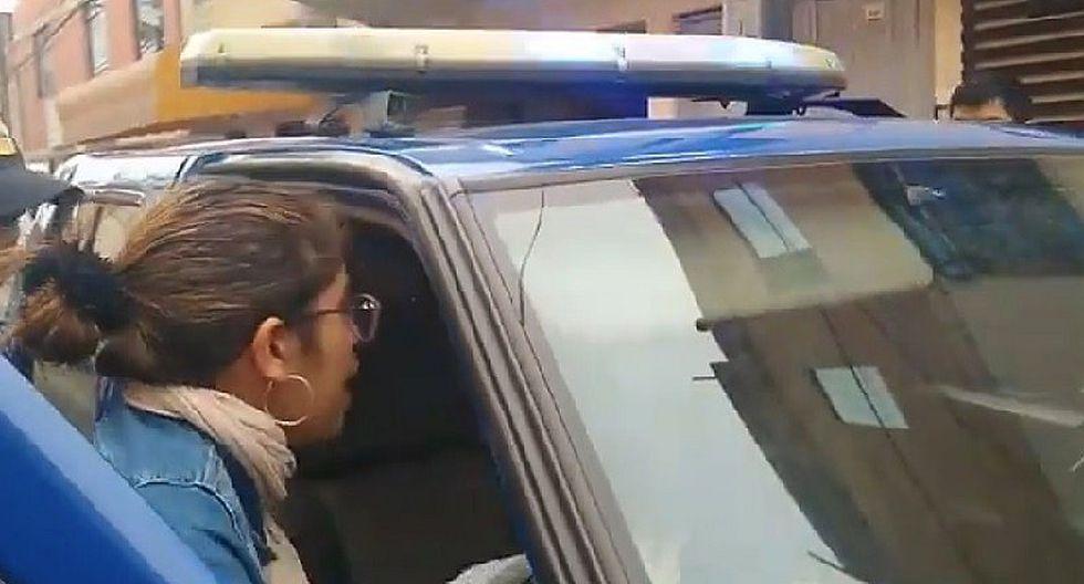 Los Olivos: Detienen a sujeto que tiró al piso a una mujer para robarle el celular (VIDEO)