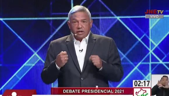 El candidato del PPC criticó, además, a George Forsyth, por afirmar que es un candidato nuevo, pero postular con un partido antiguo, como el de Humberto Lay.